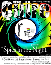 2012 - Spring Cabaret - Spies In The Night